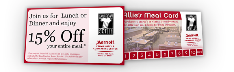 Provo Marriott – Allie's American Grill